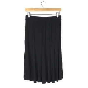 a new day Skirts - Black Hi Low Rayon Skirt